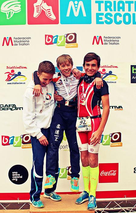 Ranking Triatlon Escolar Madrid